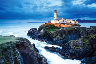 Irland, Leuchtturm Foto Hartmut Krinitz
