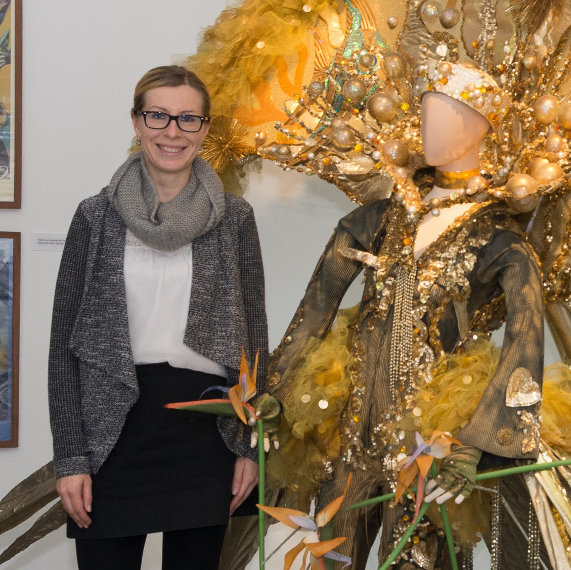 Museumsleiterin Dr. Daniela Sandner