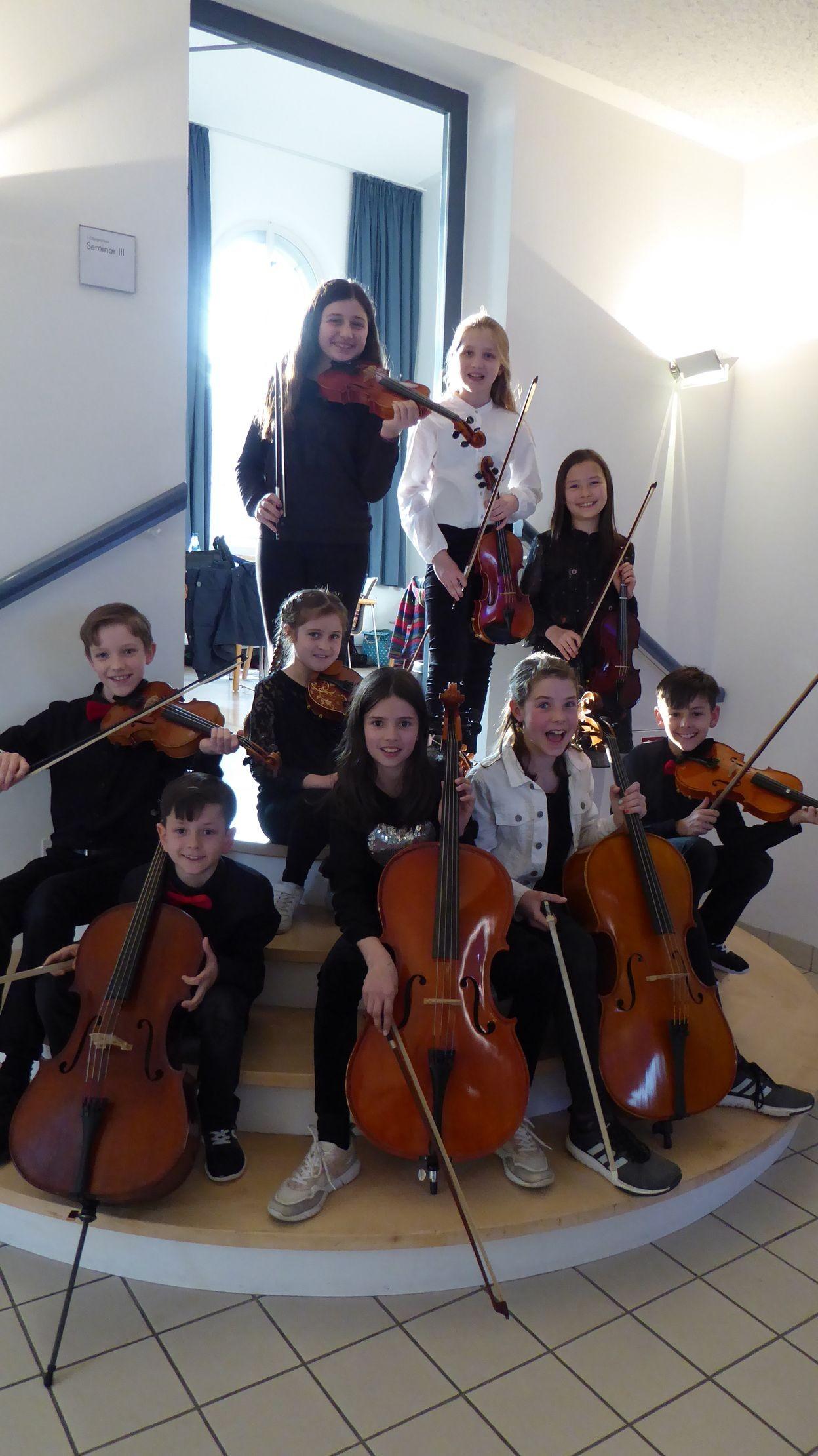 Das Vororchester der Musikschule
