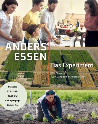 Film Anders Essen - Das Experiment Bildrechte: Langbein & Partner